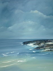 Sjomynd by Lynne Timmington -  sized 30x40 inches. Available from Whitewall Galleries